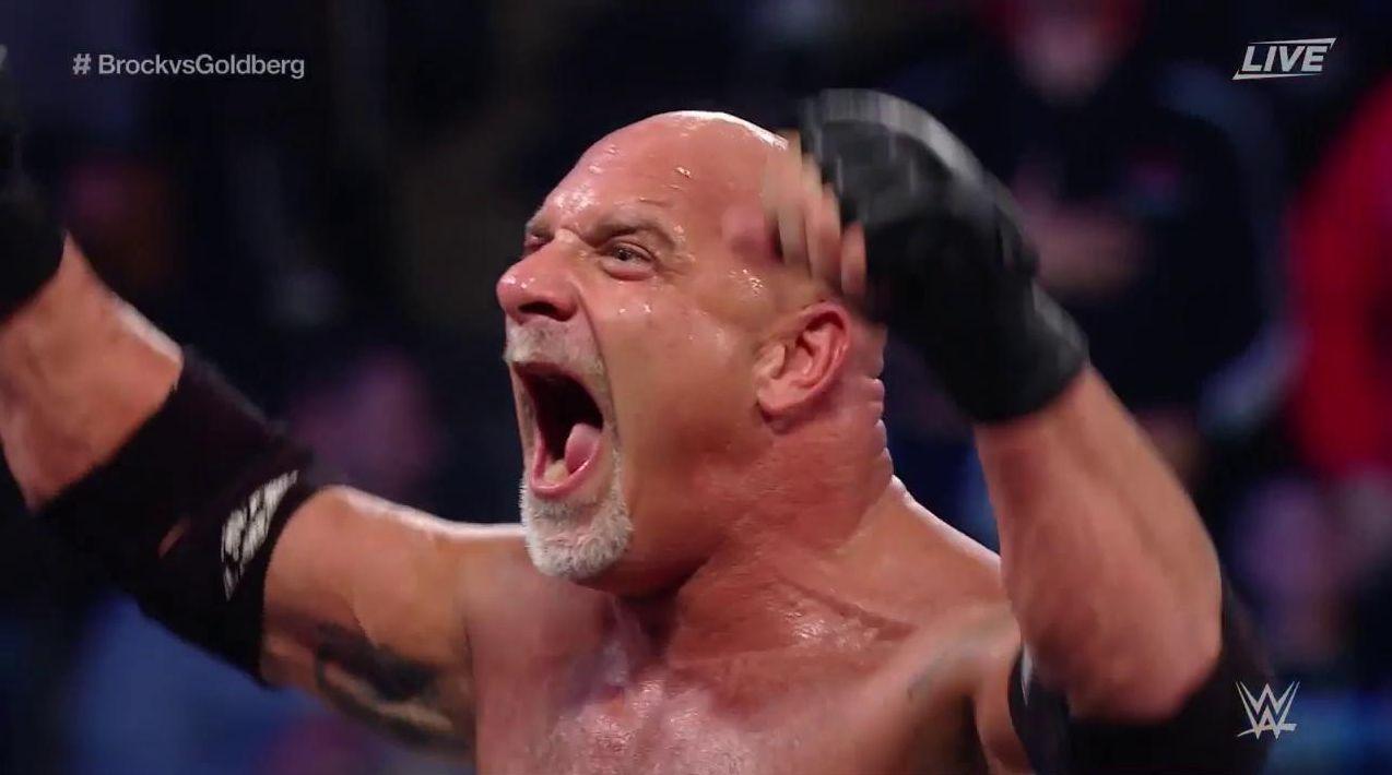 Gran acción de Goldberg para cerrar el combate