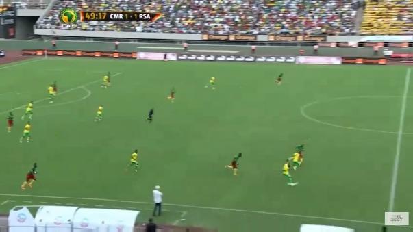 Hlompho Kekana (RSA) -26.03.2016 - Camerún-Sudáfrica, clasificación Copa de África de Naciones.