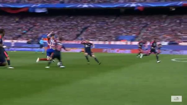 Saúl Ñíguez (ESP) -27.04.2016 - Atlético Madrid-Bayern Múnich, Liga de Campeones.
