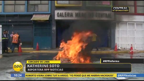Realizan simulacro de incendio en Mercado Central