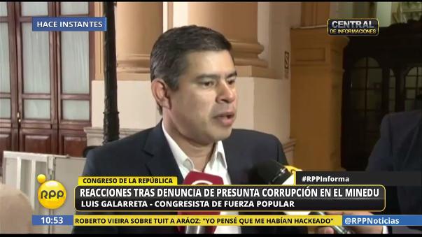 Mientras que Fuerza Popular plantea una interpelación al ministro Saavedra, el oficialismo pide tomar las cosas con calma.