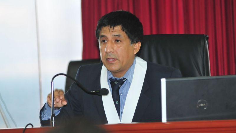 La investigación a Richard Concepción Carhuancho estará a cargo de la Unidad de Investigación y Anticorrupción de la OCMA.