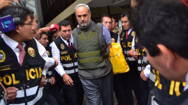 Manuel Burga fue arrestado el 15 de diciembre de 2015.