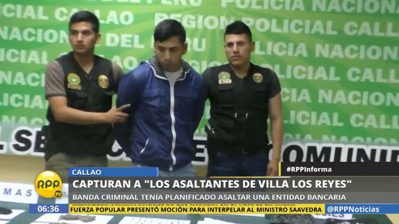 Los delincuentes pertenecían a la banda 'Los asaltantes de Villa los Reyes'.