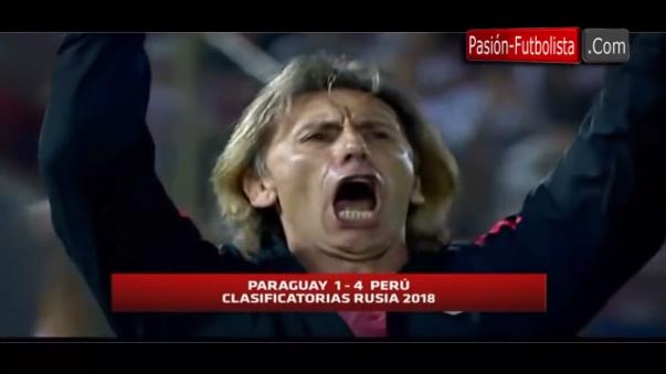 Perú goleó 4-1 a Paraguay en Asunción.