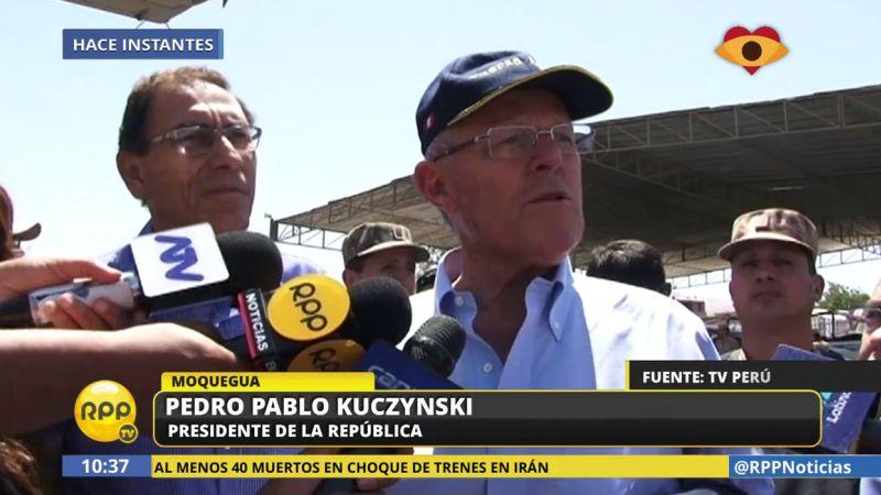 PPK respaldó nuevamente a Saavedra y se mostró confiado en que no será censurado.