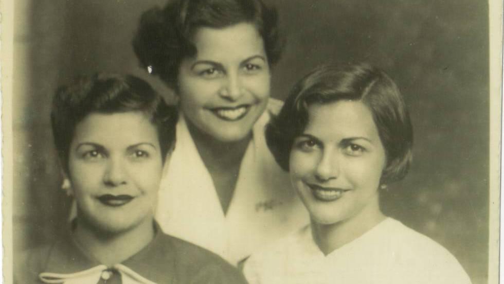 Patria, Dedé y Minerva Mirabal, feministas dominicanas.