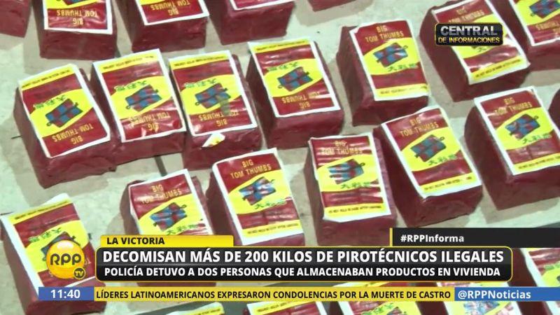 La Policía llevó a cabo esta madrugada el operativo 'Pirotécnicos 2016', logrando dar con estos delincuentes.