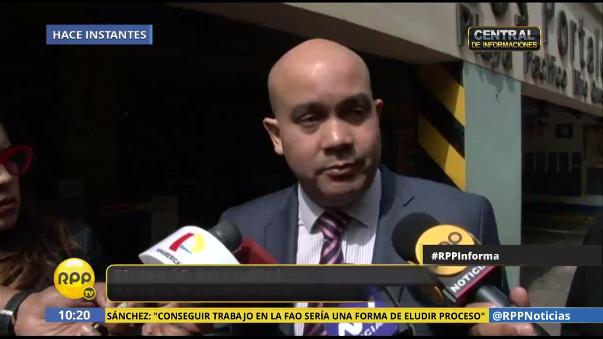 Roy Gastes aseguró que su defendida Nadine Heredia retornará al Perú para seguir su proceso por lavado de activos.