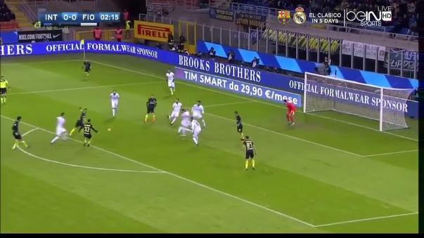 Inter de Milan (4-2) Fiorentina (Resumen del partido).
