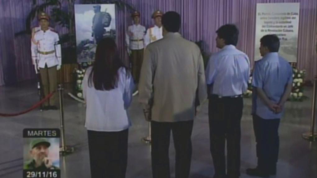 Al menos 25 líderes extranjeros, entre ellos 15 presidentes de América Latina y África, asistirán al funeral de Fidel Castro que se realizará el próximo 4 de diciembre en Santiago de Cuba.