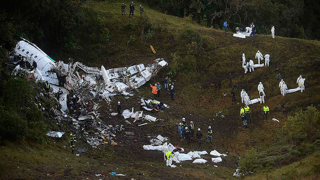 El accidente aéreo ha enlutado a Latinoamérica.