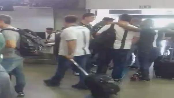 El último video de los jugadores del club Chapecoense antes de tomar el avión que tenía Medellín como destino.