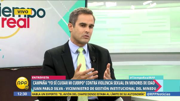 El viceministro Juan Pablo Silva conversó en Tiempo Real sobre la campaña