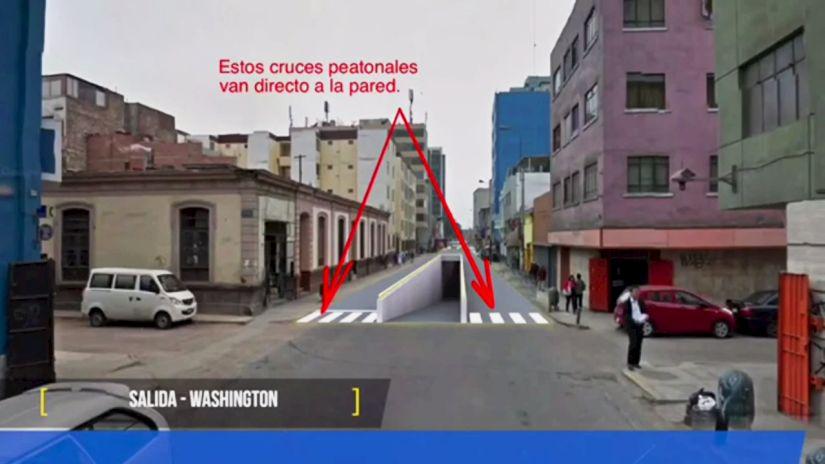 Cruzada Vial criticó la propuesta de los bypass, previamente, mediante un video que responde a la de la Municipalidad de Lima.