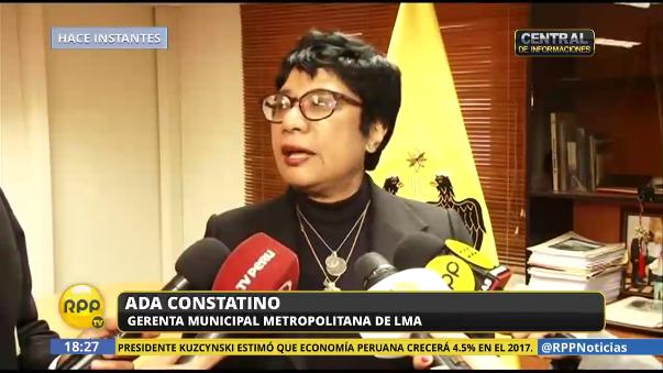 Gerente municipal de Lima dice que no se ejecutarán los by pass en la avenida Salaverry.