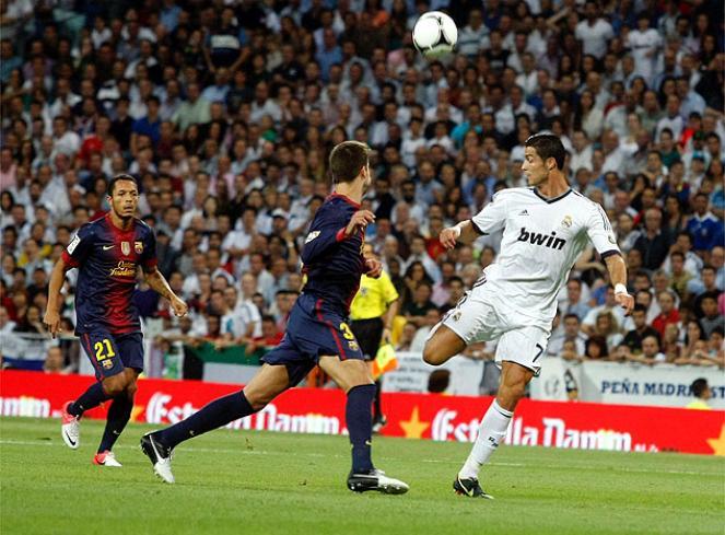 Cristiano Ronaldo tiene 8 goles y una asistencia en los 14 Clásicos que ha jugado.