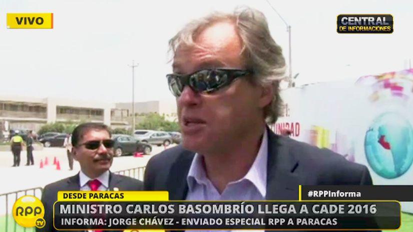 Carlos Basombrío dijo que la presencia del Salazar Belito en el lugar pudo haber sido una casualidad, pese a que se pidió una recompensa por información sobre él.