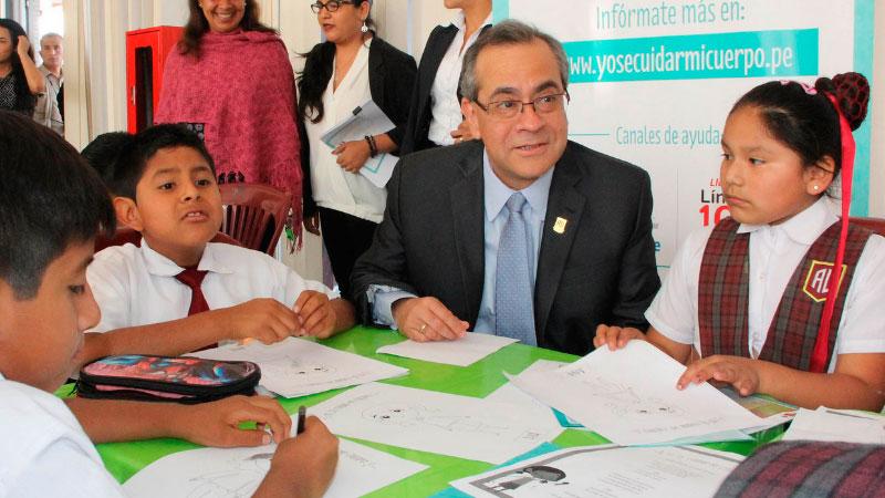 El vicepresidente Martín Vizcarra aseguró que el ministro de Educación responderá todas las preguntas durante su interpelaión.