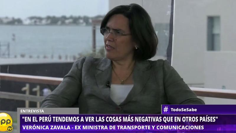Verónica Zavala estuvo en CADE y habló con Milagros Leiva en Todo Se Sabe