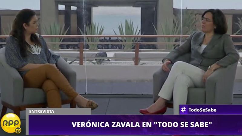 Zavala comentó sobre la unión civil.