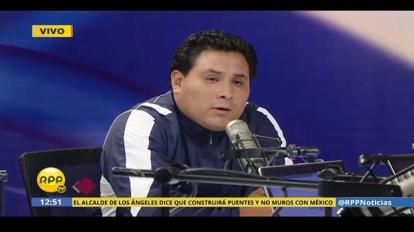 """Luis Salazar Belito dijo: """"Yo no incendié Larcomar"""""""