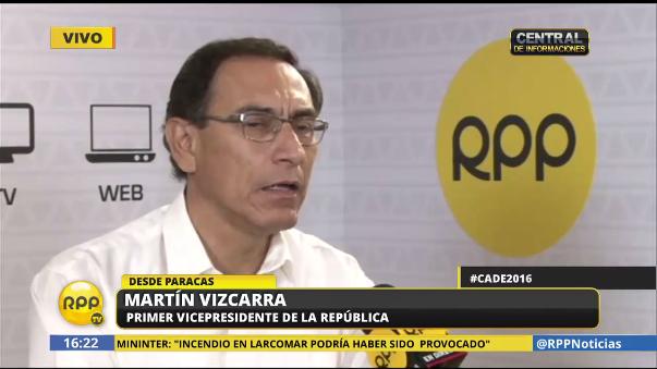 Martín Vizcarra pidió al Poder Judicial que trabaje de manera transparente en el caso de Nadine Heredia,