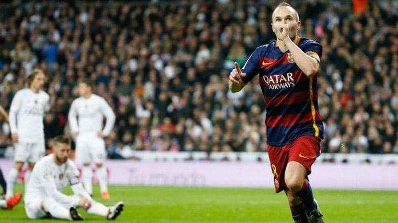 Andrés Iniesta lleva 239 minutos en la Liga Santander, esta temporada.