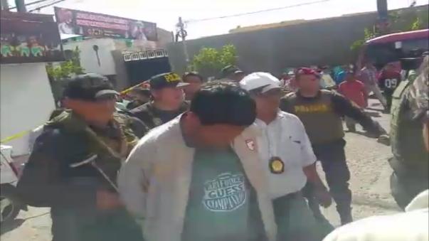 Los delincuentes fueron capturados por el Grupo Génesis de la PNP.