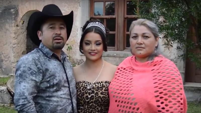 Invitación a los 15 años de Rubí Ibarra, el video se volvió viral.