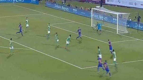 Aquí revive los goles del triunfo 5-3 del Barcelona sobre Al Ahli SC.