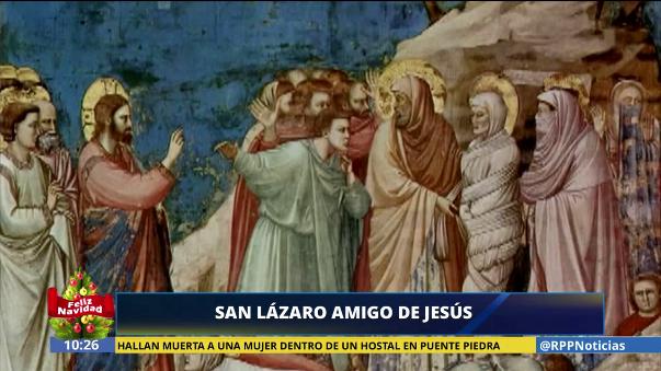 Esta es la historia del milagro de San Lázaro.