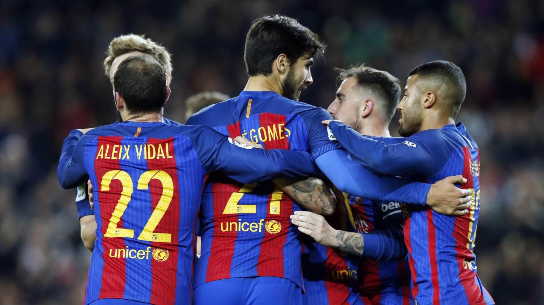 El Barcelona se llevó la llave con un resultado global de 8-1.