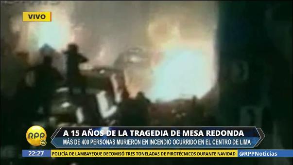 A 15 años de la tragedia de Mesa Redonda.