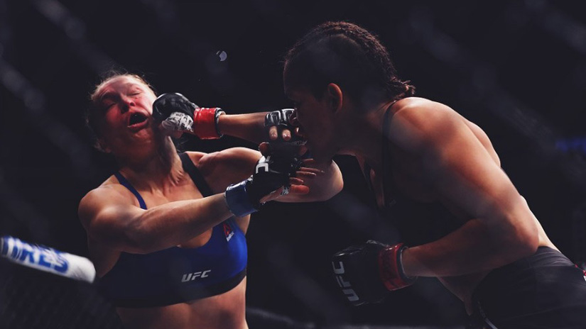 El decepcionante regreso de Ronda Rousey.