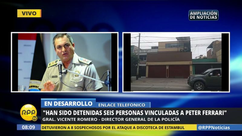 El general Vicente Romero explicó que esta intervención se realizó bajo el amparo de una orden judicial.