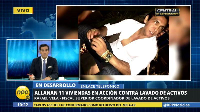 El fiscal Rafael Vela reveló que las operaciones terminarán entre las 3:00 y 4:00 p.m.