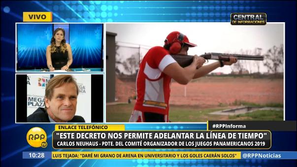 Carlos Neuhaus se refirió al Decreto Legislativo N° 1335 publicado en el Diario Oficial El Peruano.