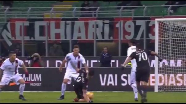 Revive el pase gol del atacante ítalo-peruano.