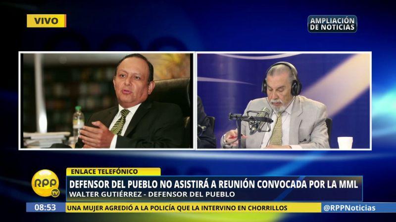 Walter Gutiérrez alertó sobre la nueva marcha convocada para este 12 de enero contra el peaje.