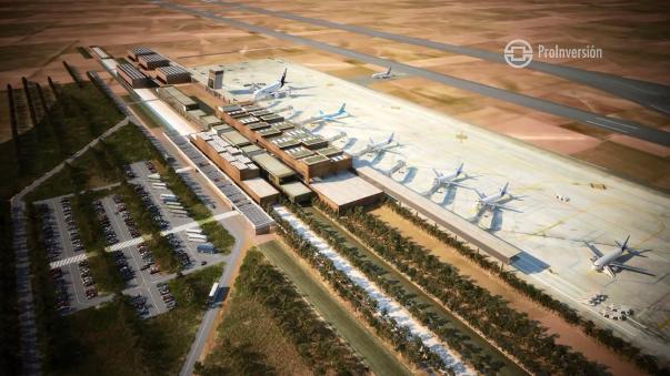 El Aeropuerto Internacional de Chinchero se ubicaría a 29 kilómetros de Cusco.