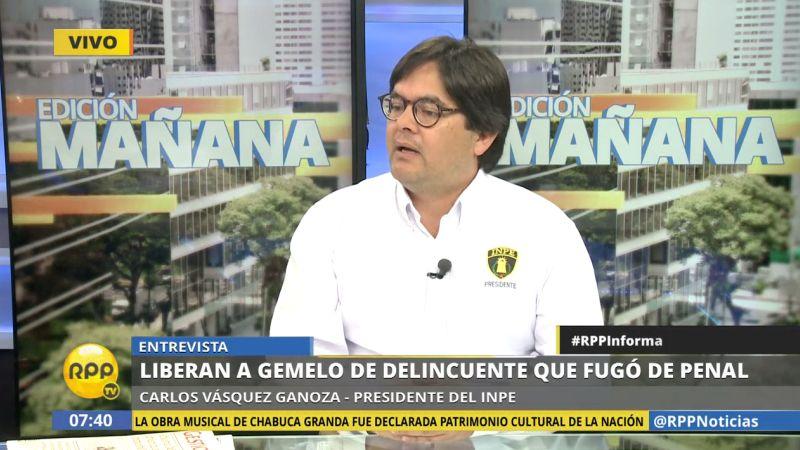 Carlos Vásquez Ganoza dijo que en los últimos 10 años se han registrado 253 fugas.
