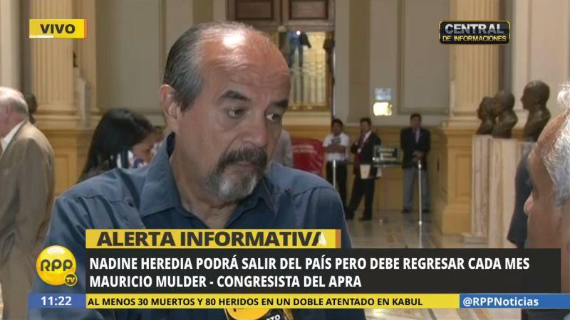 """Mauricio Mulder cuestionó la decisión judicial y calificó de """"bamba"""" el trabajo de Heredia en la FAO."""