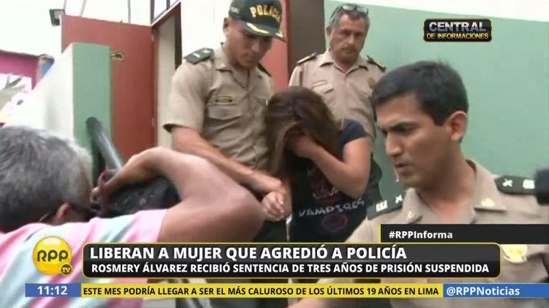 Rosemary Álvarez Monroy fue liberada al ser sentenciada solo a prisión suspendida.
