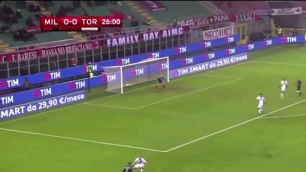 Revive los goles del triunfo del Milan.