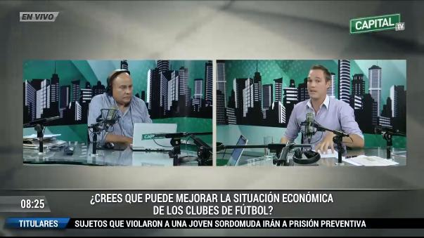 George Forsyth es socio de Alianza Lima y planteará una Ley para salvar a los equipos peruanos deudores.