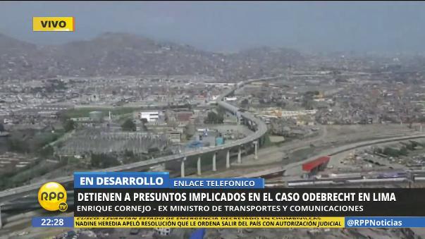 El exministro aprista Enrique Cornejo también se pronunció respecto de esta noticia.