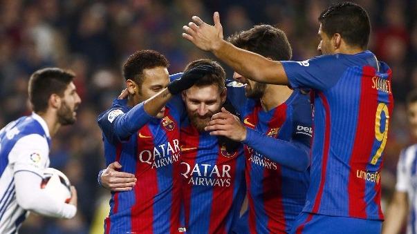 El marcador global de la llave entre Barcelona y Real Sociedad quedó 6-2 a favor de los catalanes.