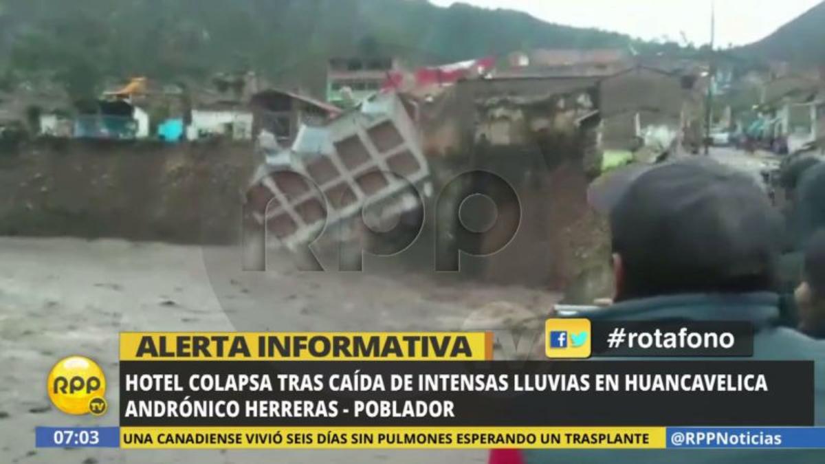 Un vecino de Lircay hizo la denuncia a través del Rotafono de RPP Noticias.