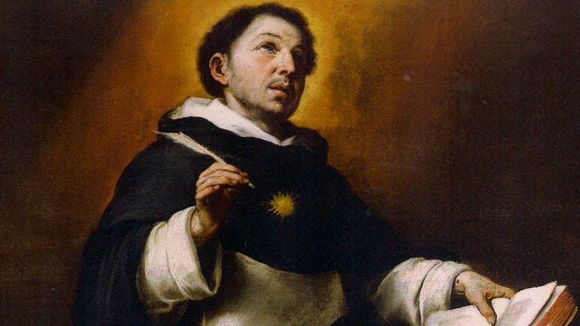 Esta es la historia de Santo Tomás de Aquino.